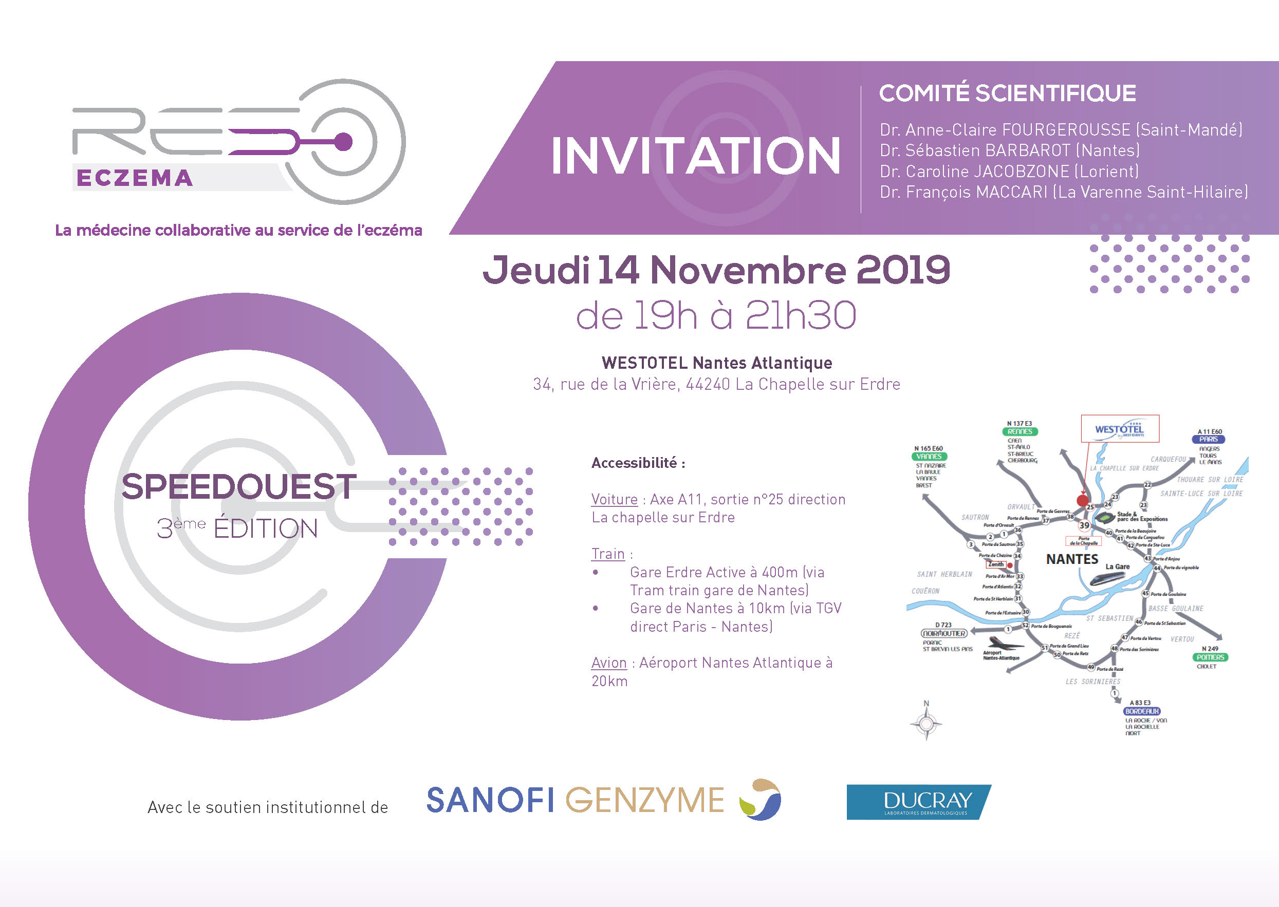 INVITATION SPEEDOUEST 2019